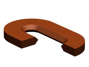 Отсекательные кольца для овальных вставок